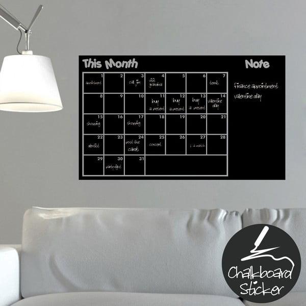 Nástěnná tabulová samolepka This Month