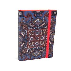 Blocnotes cu linii A6 Portico Designs Oilily, 160 pagini