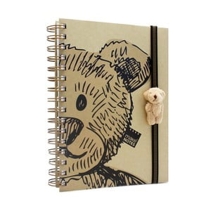 Zápisník Makenotes Bear With Doll, A5