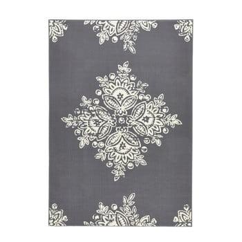 Covor Hanse Home Gloria Blossom, 120x170cm, Gri Alb