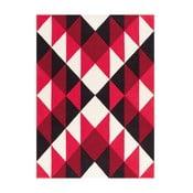 Ručně tkaný koberec Joy Zigzag, 170x240 cm