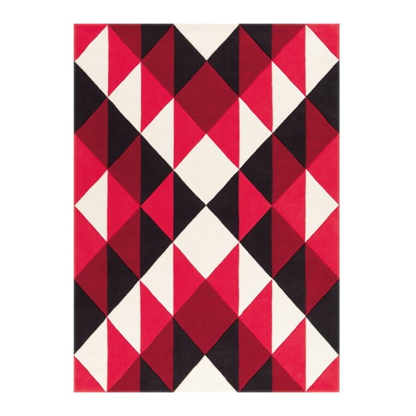 Ručně tkaný koberec Joy Zigzag, 140x200 cm