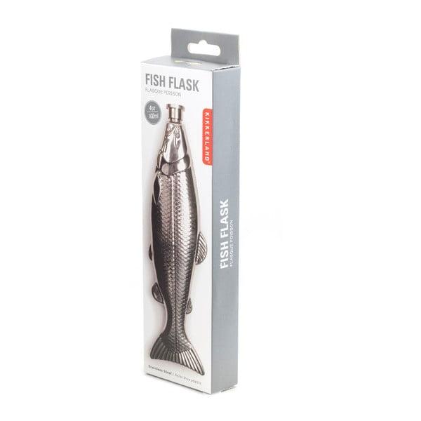 Placatka ve tvaru ryby Kikkerland Fish, 150ml
