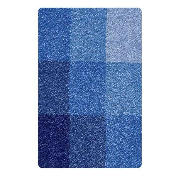 Předložka Square, 70x120 cm, modrá