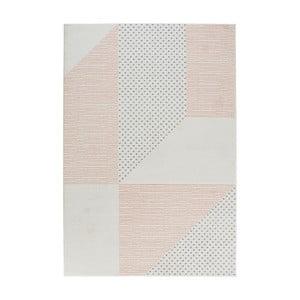 Krémovo-růžový koberec Mint Rugs Madison, 120 x 170 cm