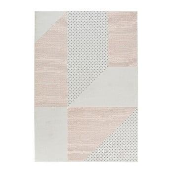 Covor Mint Rugs Madison, 160 x 230 cm, crem-roz imagine
