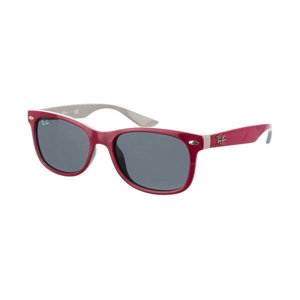 Dětské sluneční brýle Ray-Ban 9052 Maroon/Gray 47 mm