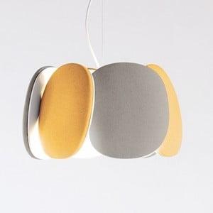 Stropní světlo Bloemi Goose Beak Orange/Beige, 45 cm