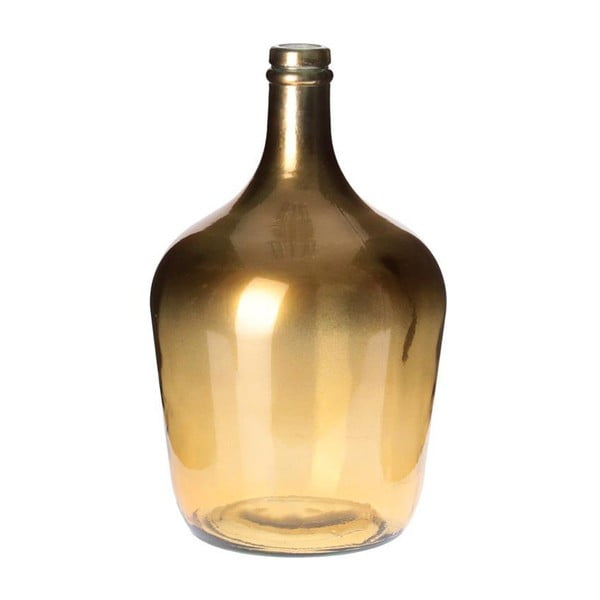 Váza Glass Gold