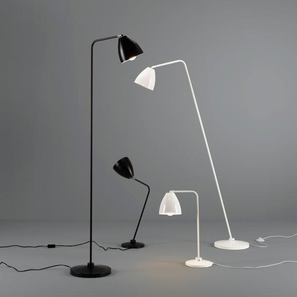 Bílá stojací lampa Design Twist Cervasca