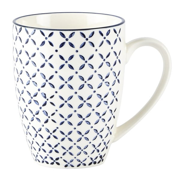 Sada 4 hrnků Villa Collection Pattern Classic, 350 ml