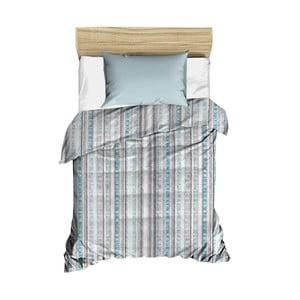 Modrý prošívaný přehoz přes postel Bobby, 160 x 230 cm