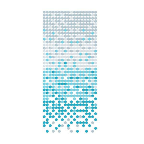 Sprchový závěs White&Blue Dotted
