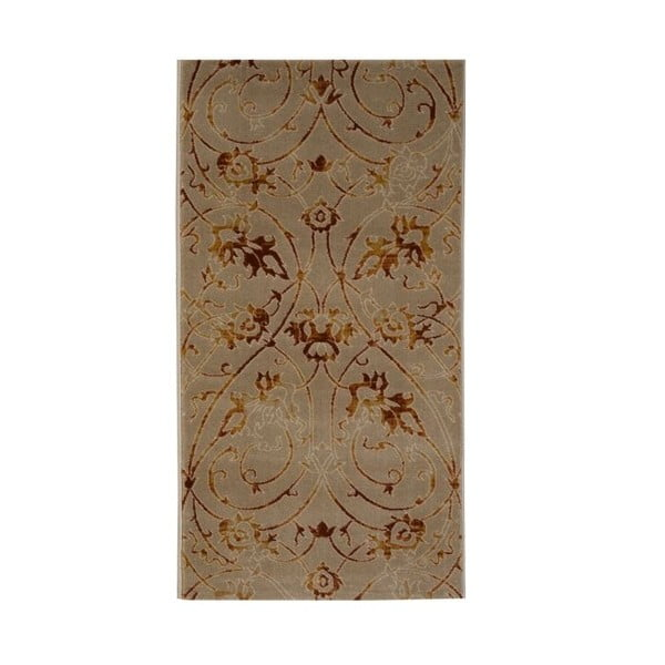 Koberec Galata 39022A Beige/Brick, 80x150 cm