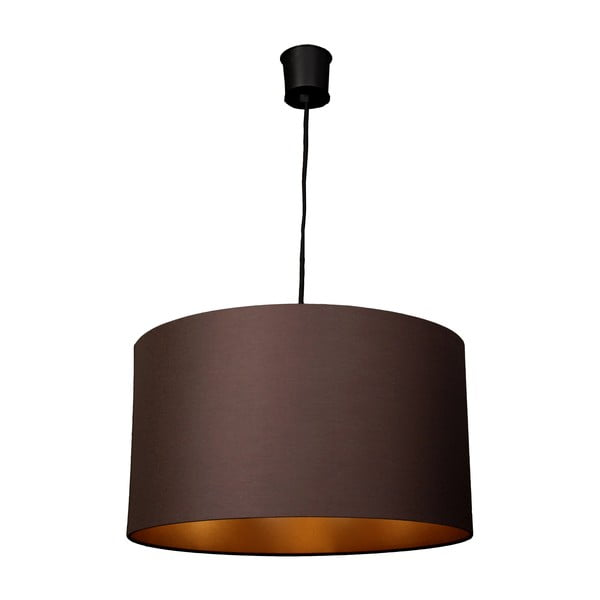 Závěsné světlo Gold Inside One Brown