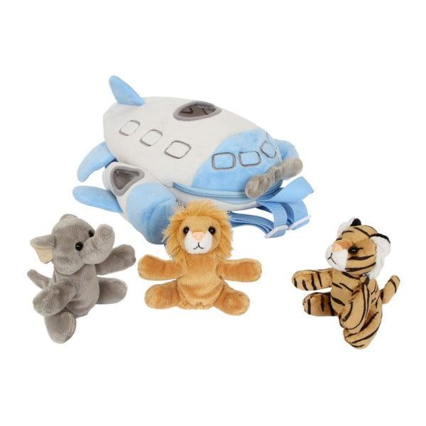 Set rucsac și jucărie de pluș Legler Animal Drivers