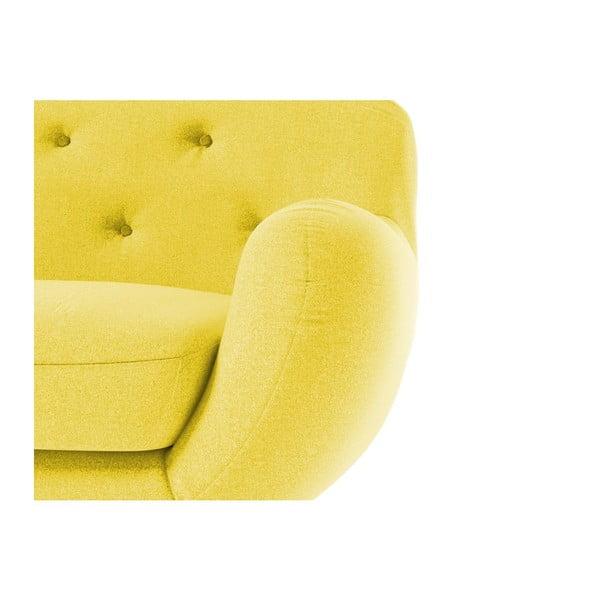 Sedačka Zefir pro dva, žluté