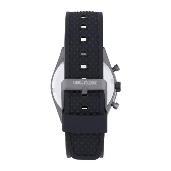 Pánské černé hodinky Zadig & Voltaire Sporty
