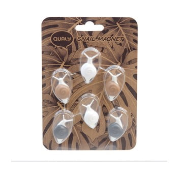 set 6 magneți qualy&co snail - c8b0b900487786e368533bbbdc87efa70475fc04 350x350 - Set 6 magneți Qualy&CO Snail