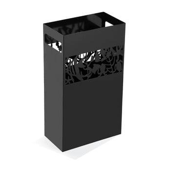Suport metalic pentru umbrele Versa Acuario, înălțime 49cm, negru