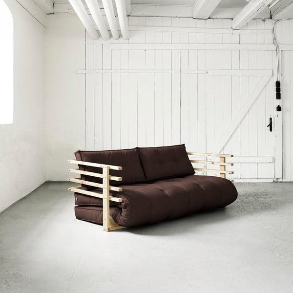 Canapea extensibilă Karup Funk Natural/Brown