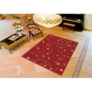 Červený koberec Universal Madras, 80 x 150 cm