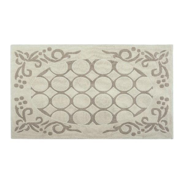 Bavlněný koberec Mirao 120x180 cm, krémový