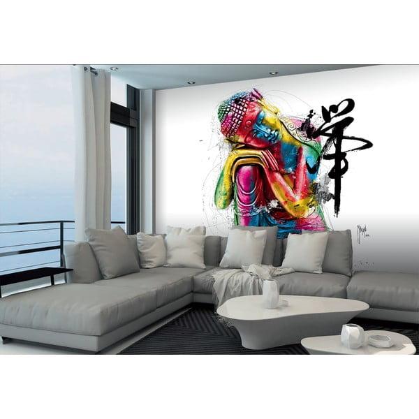 Tapet în format mare Buddha colorat, 366x254 cm