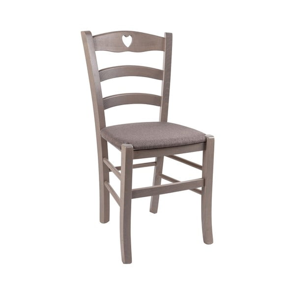 Brązowe krzesło Evergreen House Faux