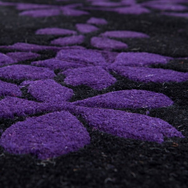 Vlněný koberec Rosono Lilac, 170x240 cm