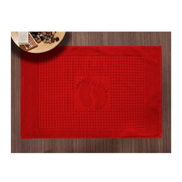 Koupelnová předložka Basic Red, 50x70 cm
