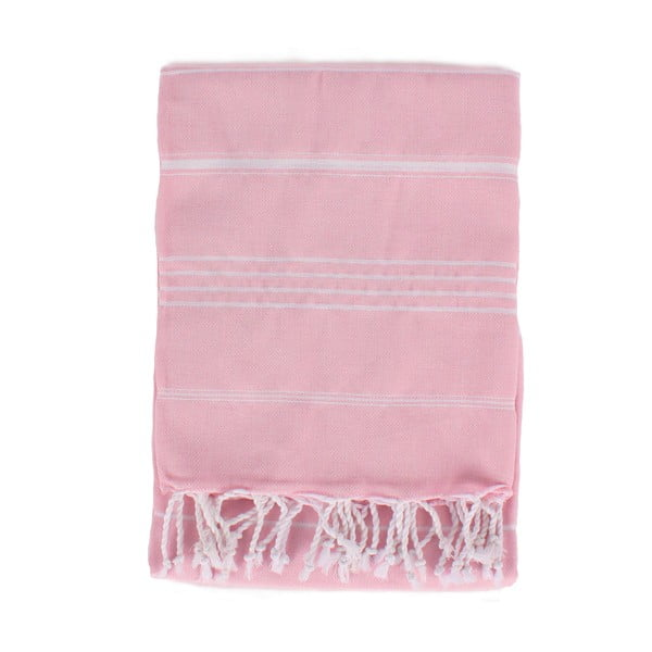 Ručník Ibiza 180 x 100 cm, Baby Pink