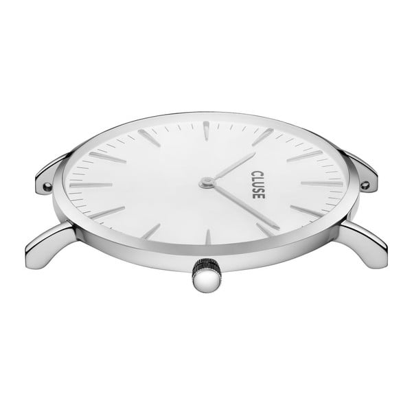 Hodinky Cluse La Bohéme Silver White/Grey