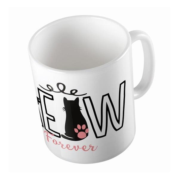 Keramický hrnek Meow Forever, 330 ml