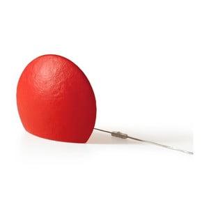 Lampa Eggo 30 cm, červená