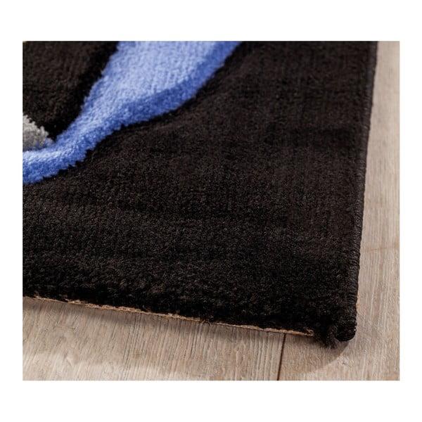 Modrý dětský koberec Pirate, 133 x 190 cm