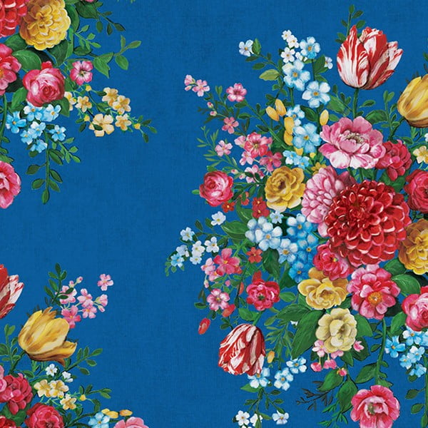Tapeta Pip Studio Dutch Painters, 0,52x10 m, tmavě modrá