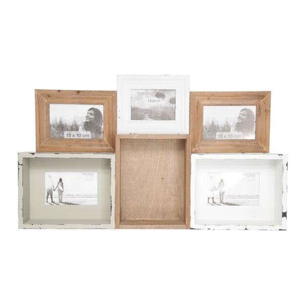 Univerzální tác/polička/fotorámeček Tray In Wood, 68x40 cm