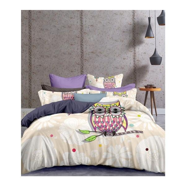 Lenjerie de pat din microfibră DecoKing Summerstory, 200 x 220 cm