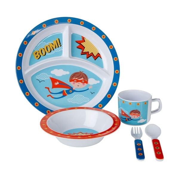 Set veselă pentru copii Premier Housewares Super Rupert, 5 piese