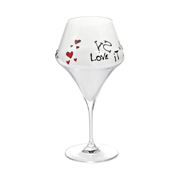 Set sklenek na víno Fade Love Sweet Years, 6kd