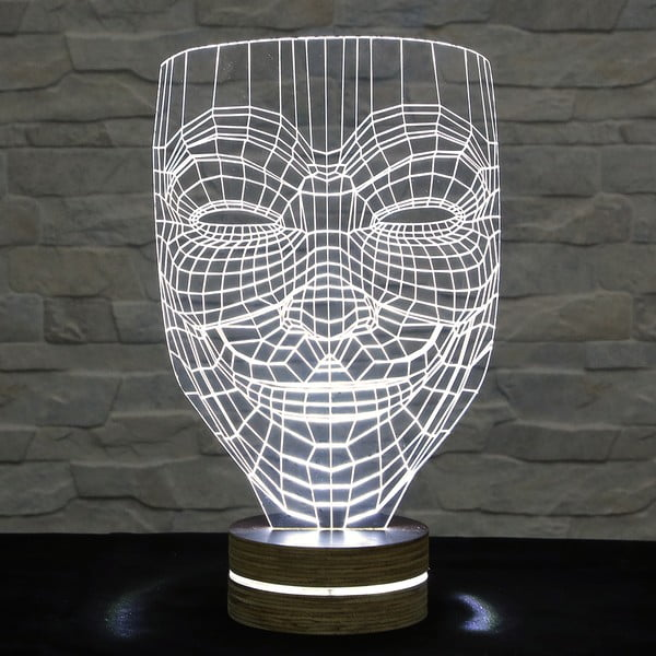 3D stolní lampa Anonymous