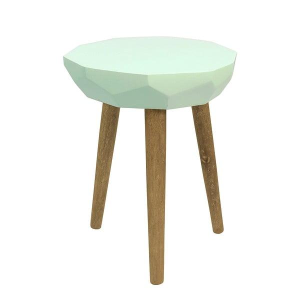 Světle zelený stolek HF Living Diamond