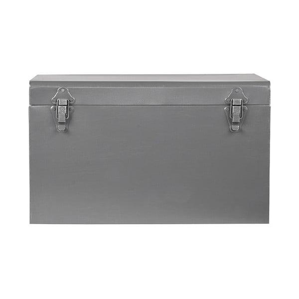 Kovový úložný box LABEL51, délka 40cm