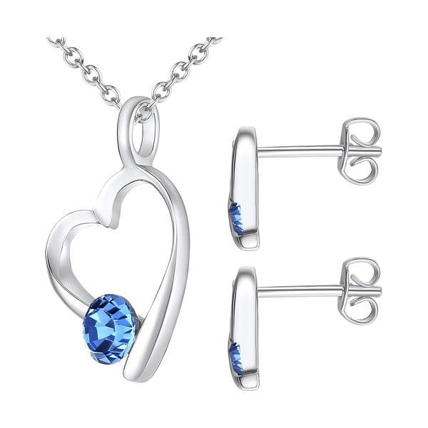 Sada náhrdelníku a náušnic s krystaly Swarovski Lilly & Chloe Alais