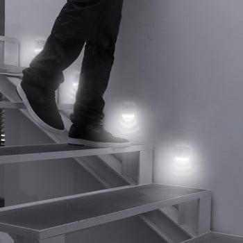 Set 2 LED-uri cu senzori de mișcare InnovaGoods imagine