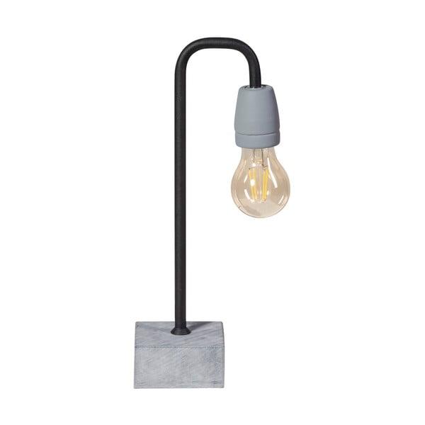 Stolní lampa ETH Concrete Bow Dark