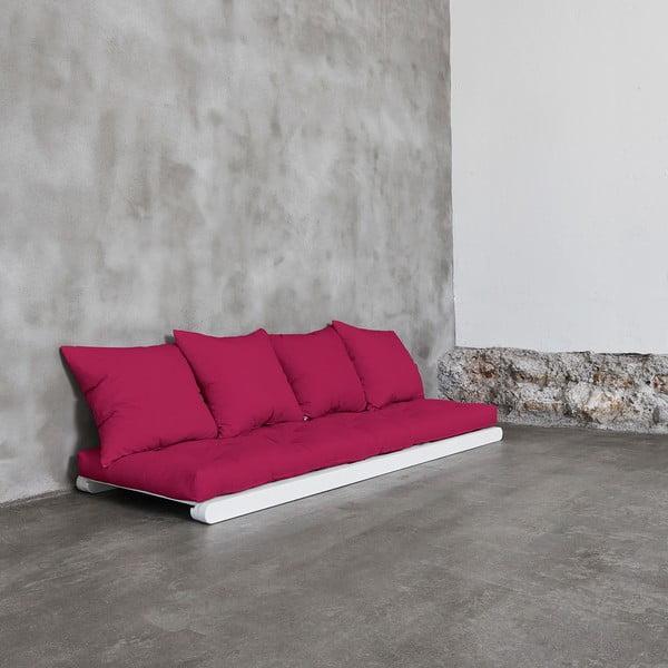 Lenoška Karup Figo, White/Pink, 70 cm