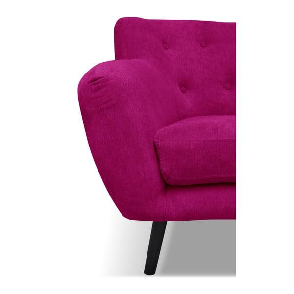 Růžové křeslo Cosmopolitan design Hampstead
