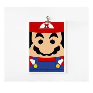 Plakát A4 Mario
